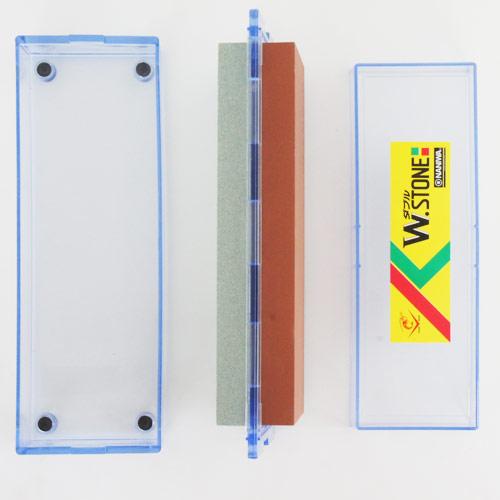 Combination Sharpening Stone [W.STONE] #220 / #1000 HT-0100 Naniwa