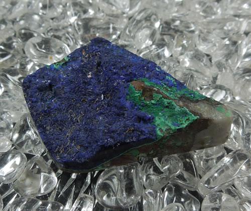 アズライトマラカイト(アズロマラカイト、アズルマラカイト)【送料無料】 天然石 パワーストーン azur056