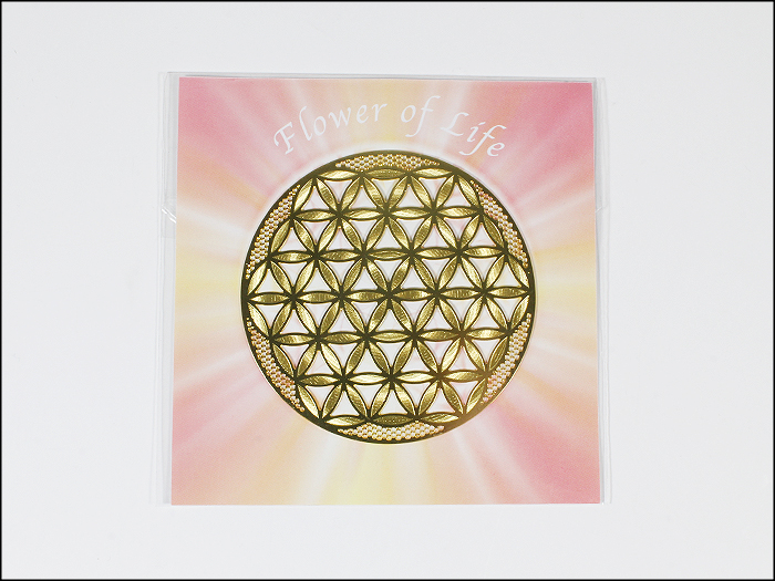 Flower of life (activation) and NRG card ecard-flo