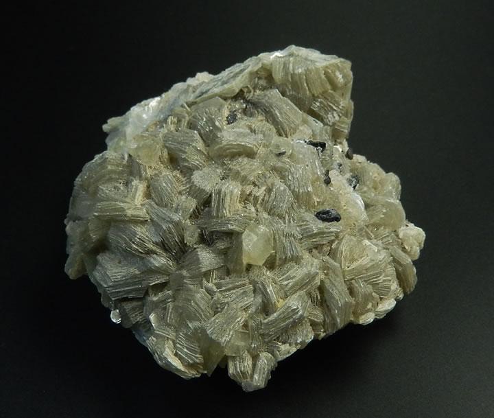 ヒマラヤ産ヘルデライト結晶onマスコバイトマイカ(白雲母)クラスター91.6g 小さめだが素晴らしい結晶 新しい意識の目覚め herde148