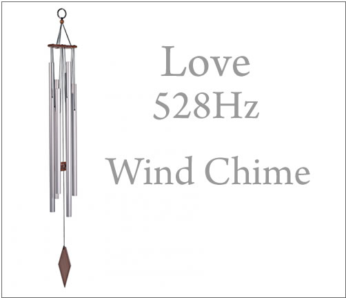 Frequency 528Hz hh005 wind-bell purification talisman against evil  intuition meditation miracle healing of the wind chime love