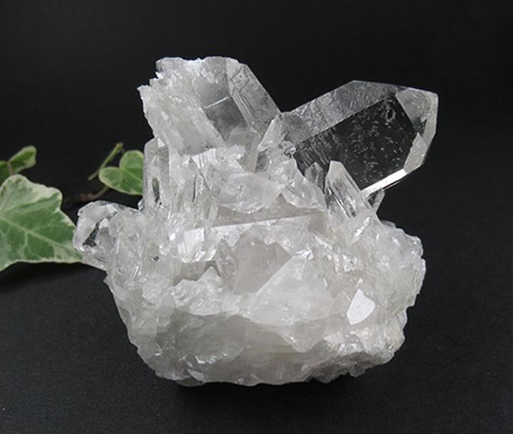 日本式双水晶116g★優れた透明感!★ブラジル・japan026