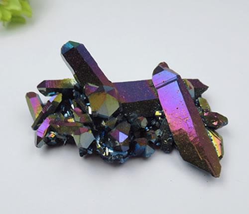 【ポイント5倍 7/18 20:00ー26 1:59】AAA高品質チタニウムクォーツクラスター アーカンソーの鉱山主から直接購入ヴァイタリティ 知恵と聡明さのヘルメスの石 titan059