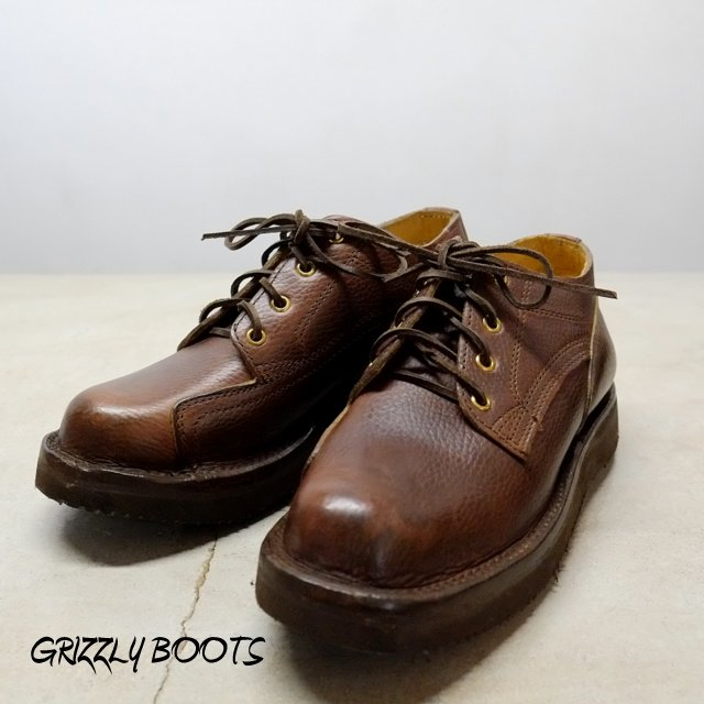 GRIZZLY BOOTS (グリズリー ブーツ)/Lineman Oxford -Horween Brown-