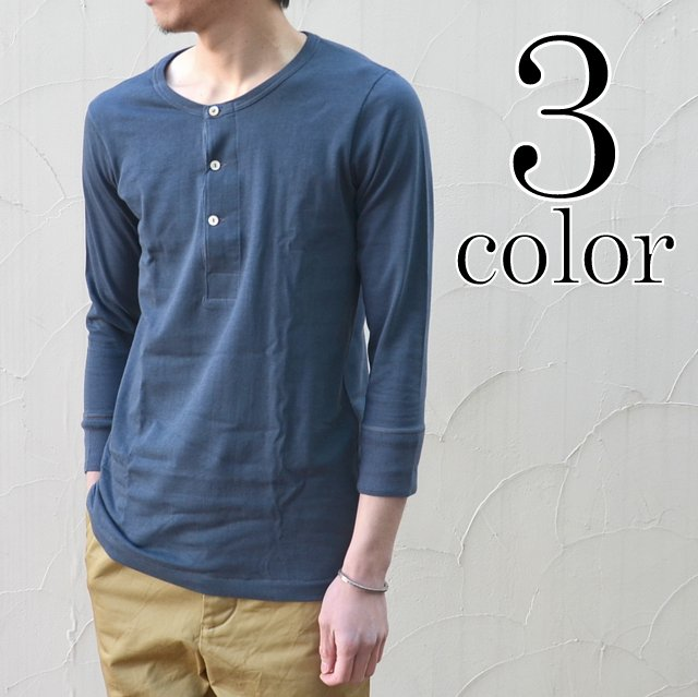 Merz b. Schwanen(メルツ・ベー・シュヴァーネン)/ button facing shirt -3色展開-