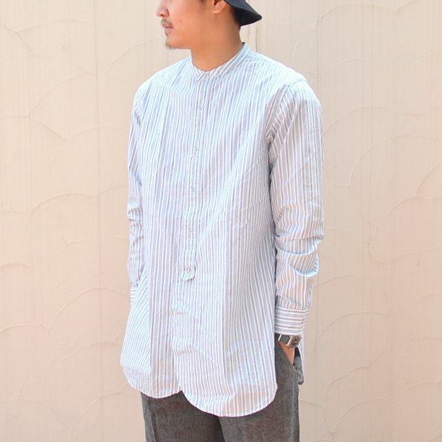 MOJITO(モヒート)/ CLARENCE SHIRT -WHITE/BLUE-
