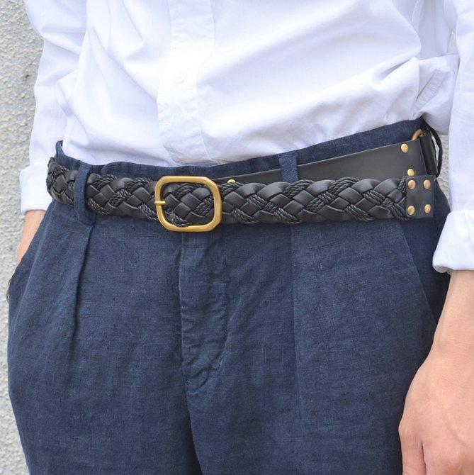 ki:ts(キーツ)/ Mesh Belt -BLACK-