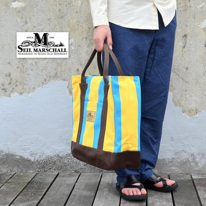 SEIL MARSCHALL(サイル マーシャル)/ Vintage1960's Canvas Beach Tote Bag -(00)MULTI LIMITED EDITION-