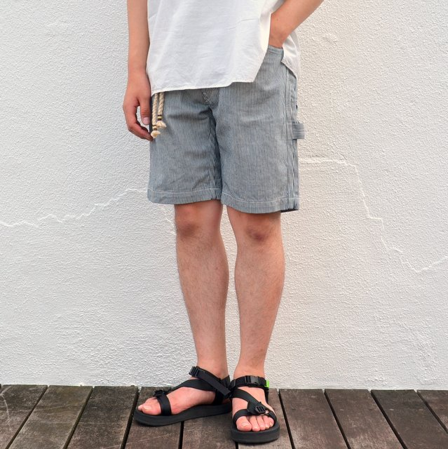 orSlow(オアスロウ)/ SLIM FIT PAINTER SHORTS -HICKORY-
