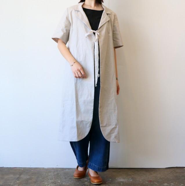 CABINET(キャビネット)/coated linen coat
