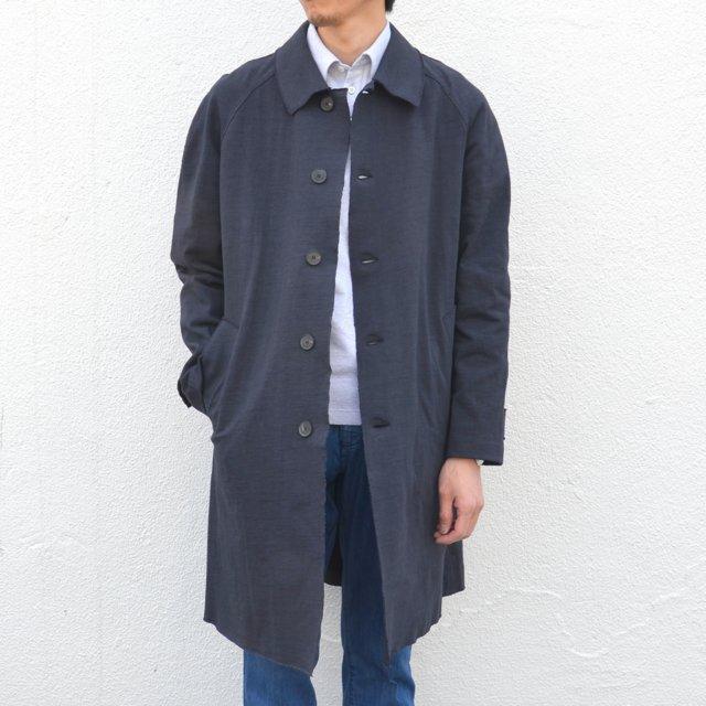 Harris Wharf London(ハリスワーフロンドン)/ Creased Cotton Oversized Coat -(359)dark blue-
