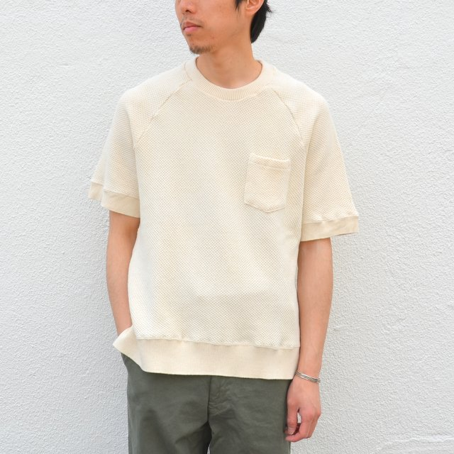 FLISTFIA(フリストフィア)/Short Sleeve Pull Over -Off White-