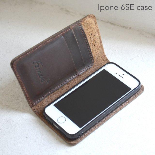【ついに再販開始!】 FERNAND LEATHER(フェルナンド・レザー)/I Phone Case iphon SE -2色展開-, 上磯町 4772ba2c