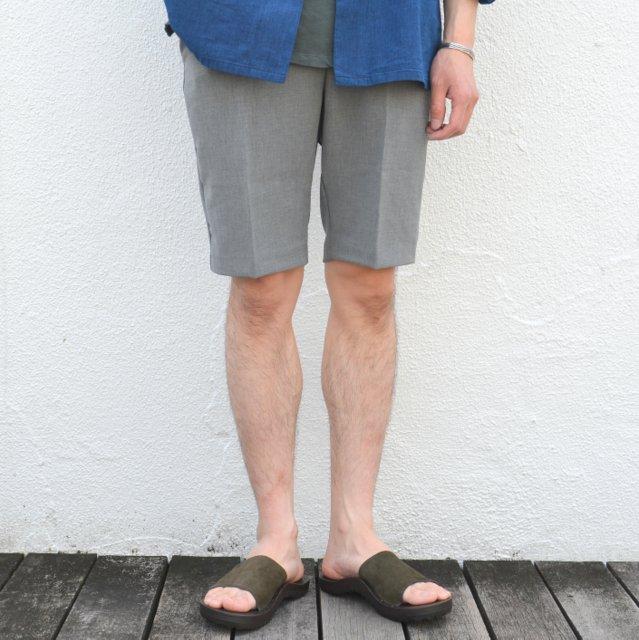 FLISTFIA(フリストフィア)/ Short Trousers -Charcoal Gray-