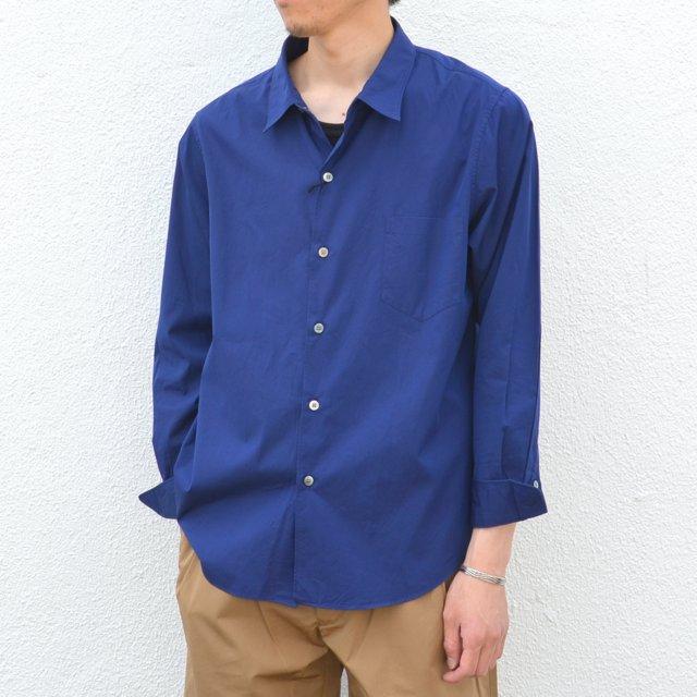 semoh(セモー)/ Regular collar Shirt -NAVY-