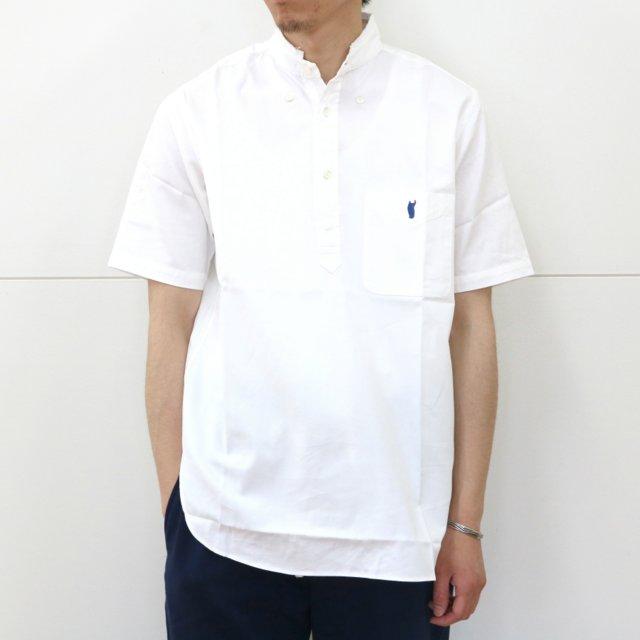 YOUNG & OLSEN(ヤングアンドオルセン)/ BROKEN BD OX PULLOVER SS -WHITE-