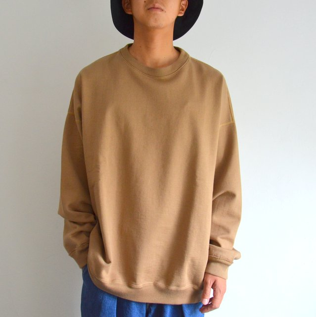 MARKAWARE(マーカウェア)/ HUGE SWEAT SHIRTS -COYOTE-