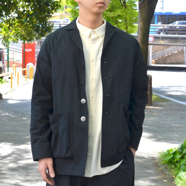 too good(トゥーグッド) / THE PHOTOGRAPHER JACKET PLAIN COTTON -COAL-