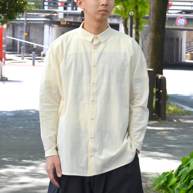 too good(トゥーグッド) / THE DRAUGHTSMAN SHIRT COTTON CALICO LW -RAW-
