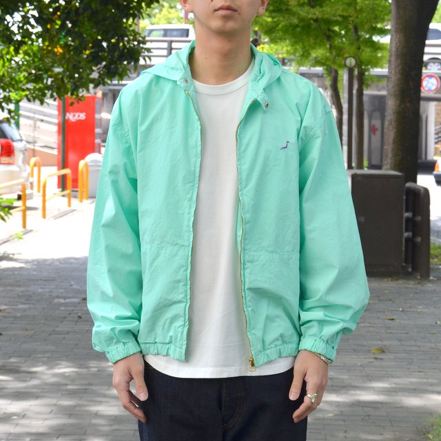 orSlow(オアスロウ)/ HOODED BLOUSON -GREEN-