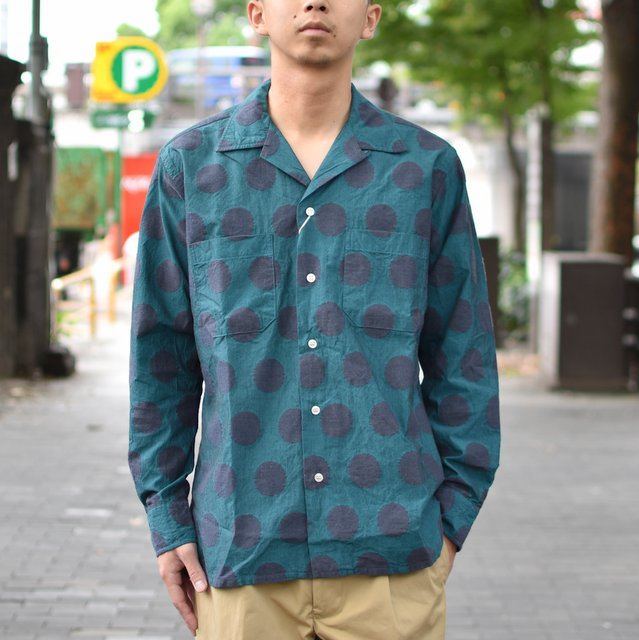 MOJITO(モヒート)/ ABSHINTH SHIRT Bar.2.0 -(75)BLUE-