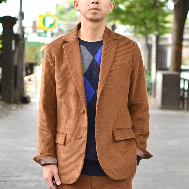 EEL products(イ―ルプロダクツ)/LIVERPOOL JACKET -(36)ORANGE-