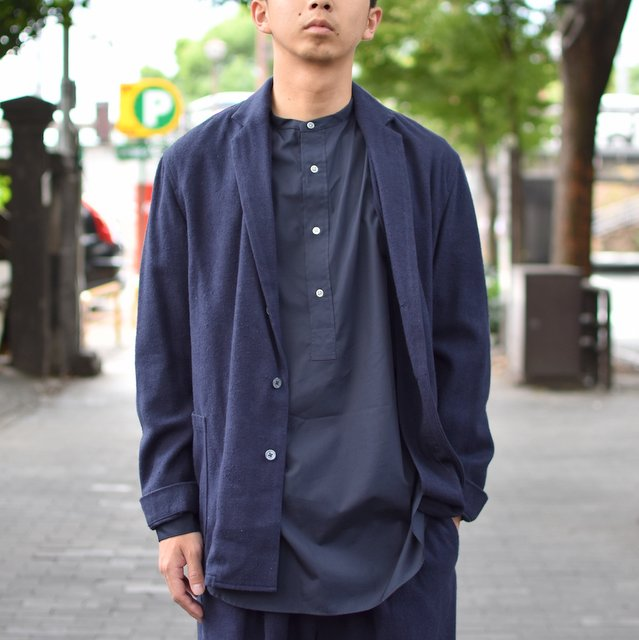 tim.(ティム)/ SHIRT JACKET -(35)NAVY-