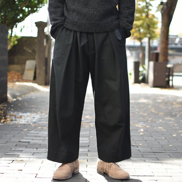 too good(トゥーグッド) / THE TINKER TROUSER DYED CALICO MW-FLINT-