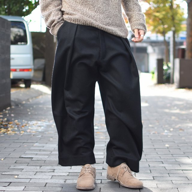 too good(トゥーグッド) / THE TINKER TROUSER FELTED LAMBSWOOL MW-FLINT-