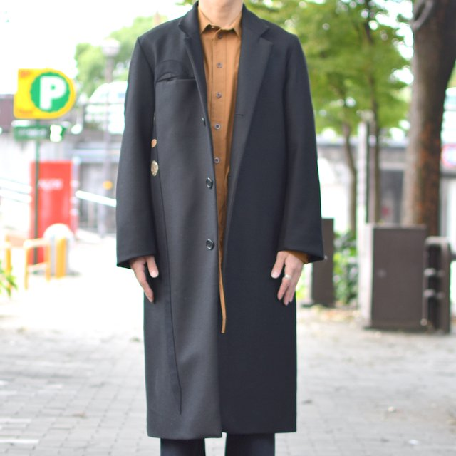 FRANK LEDER(フランクリーダー)/ FRANK LEDER Archive Edition Coat+Stick-(99)BLACK-