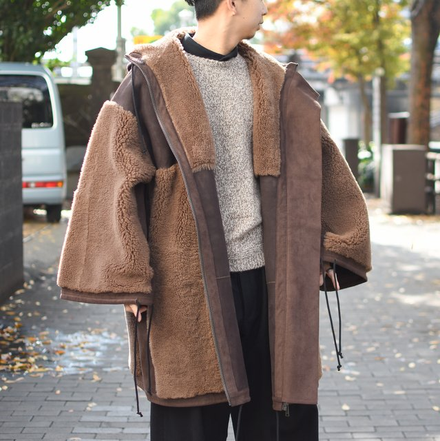 too good(トゥーグッド) / THE EXPLORER COAT SHEARLING -PEAT-