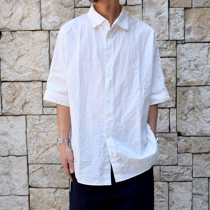 CASEY CASEY(ケーシーケーシー)/WAGA SHIRT -WHITE-