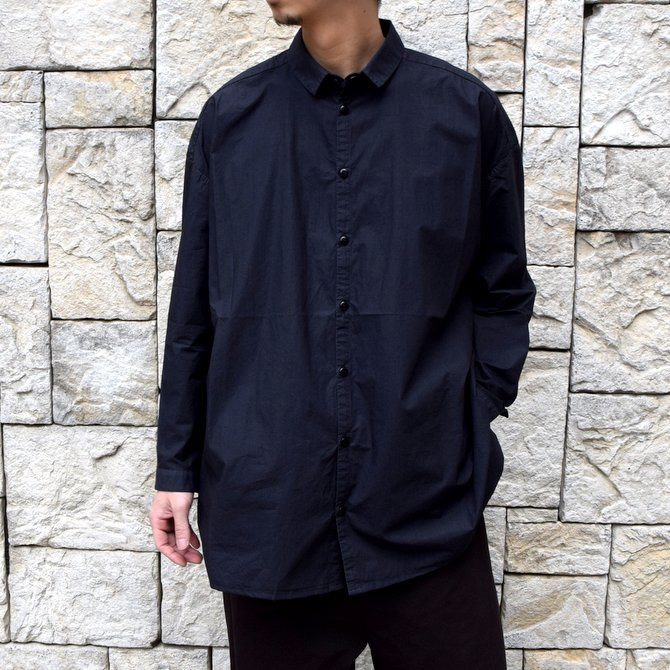 【2020 SS】toogood(トゥーグッド)/ THE DRAUGHTSMAN SHIRT POPLIN -FLINT-