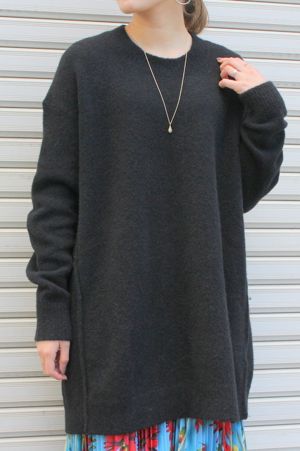 BOBOUTIC(ボブティック)/MAIX PULL BIG KNIT(BLACK)