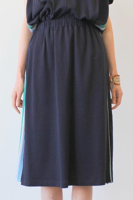 Harikae(ハリカエ)/SIDE TAPE JERSEY SK(サイドテープジャージースカート)