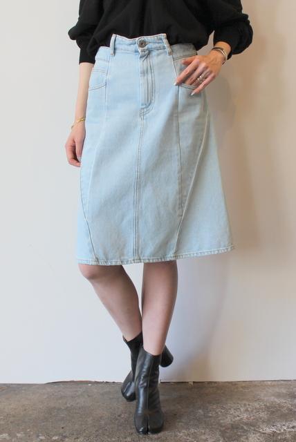 Maison Margiela(メゾン マルジェラ)/パッチワークデニムスカート