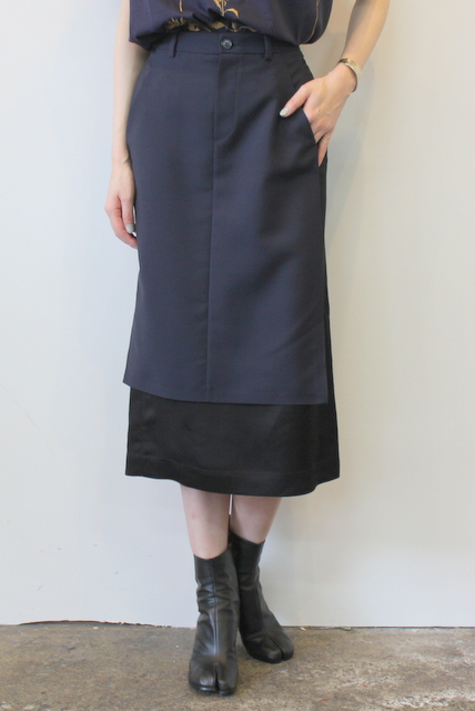Maison Margiela(メゾン マルジェラ)/フロントデザインスカート