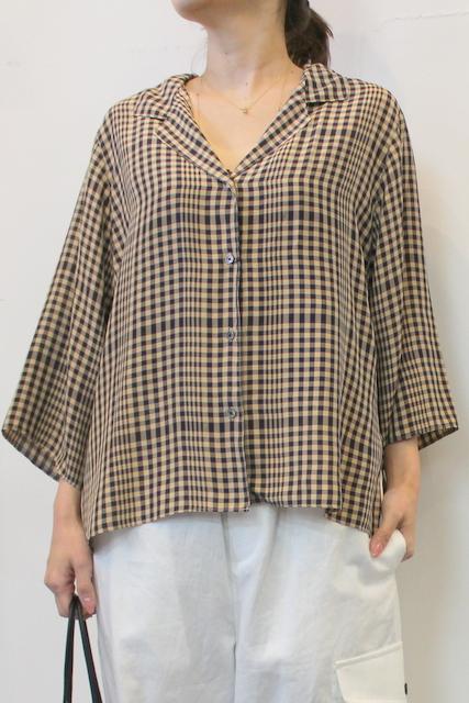 TICCA(ティッカ)/オープンカラーシャツ
