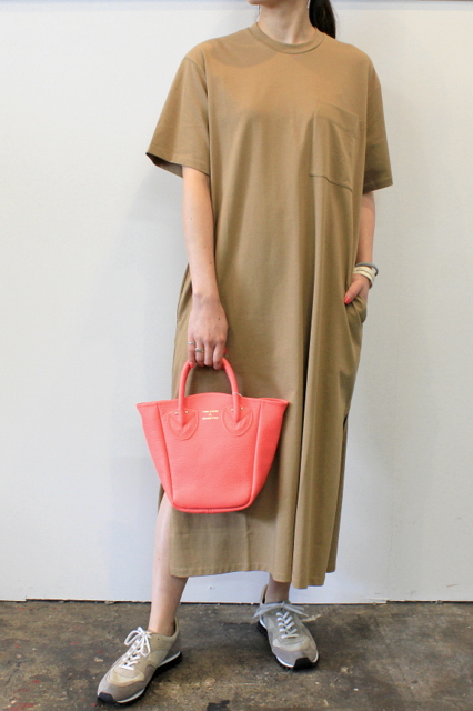 STUDIO NICHOLSON(スタジオニコルソン)/SHORT SLEEVE JERSEY DRESS