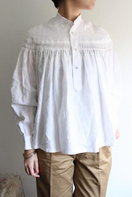 SCYE(サイ)/リネンタックシャツ(2色展開)