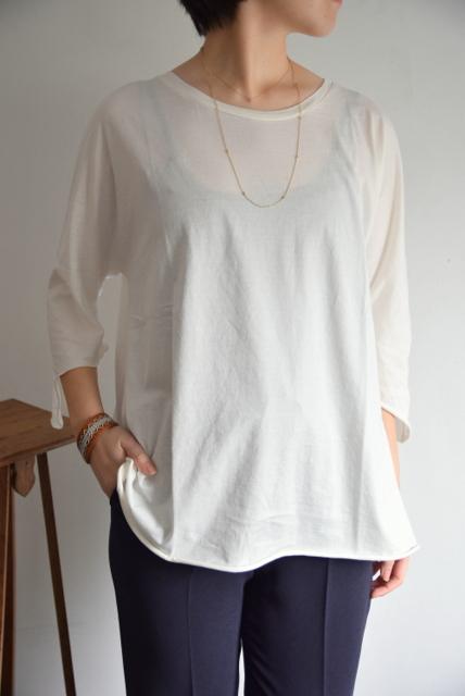 Kristensen DU NORD(クリステンセンドゥノルド)/クルーネックTシャツ(2色展開)