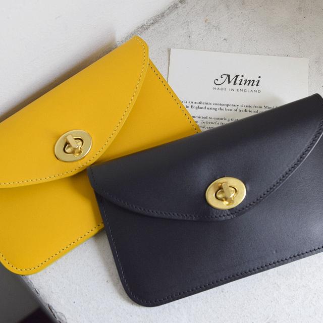 Mimi(ミミ)/Hilda タンニングレザー ミニ財布