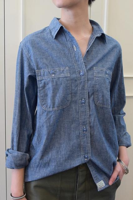 orSlow(オアスロウ)/LADY'S CHAMBRAY SHIRTS シャンブレーシャツ