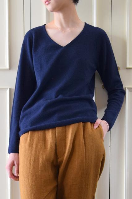糸衣(いとい)/ KIRIBA カシミヤ100%ニット(3色展開)