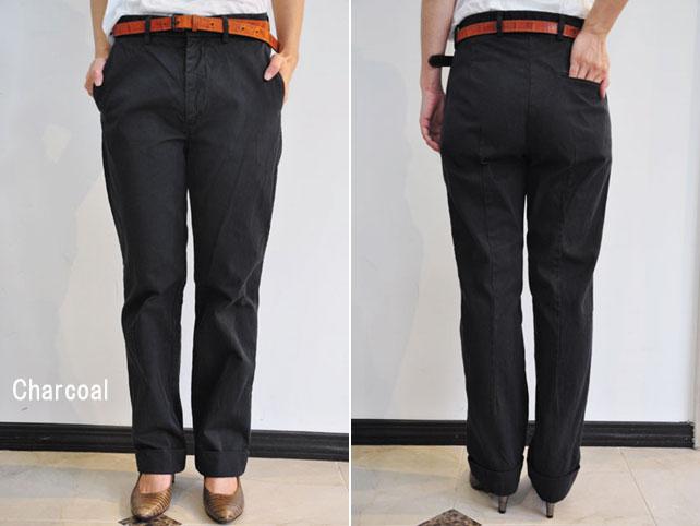 SOFIE D'HOORE (소피도 르)/PERUGIA classic flat fold pants