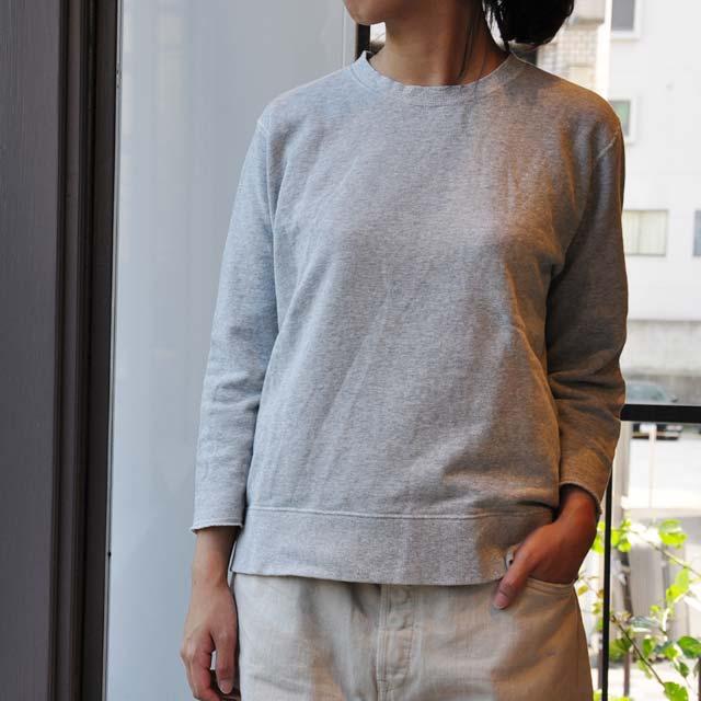 chimala(チマラ) / UNISEX GAUZE TERRY CLOTH CREW TOP