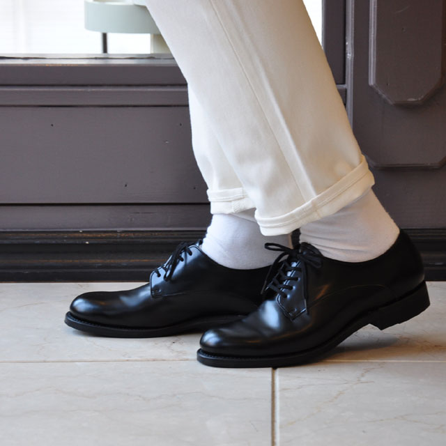 Beautiful shoes(ビューティフルシューズ) / SERVICEMAN SHOES (BLACK)