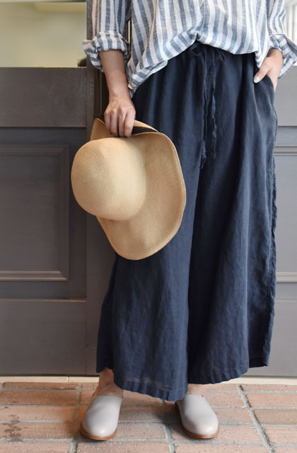 HARROW TOWN STORES(ハロータウンストアーズ)/ LINEN EASY PANTS(3色展開)