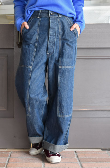 chimala(チマラ) / DOUBLE KNEE WORK TROUSERS