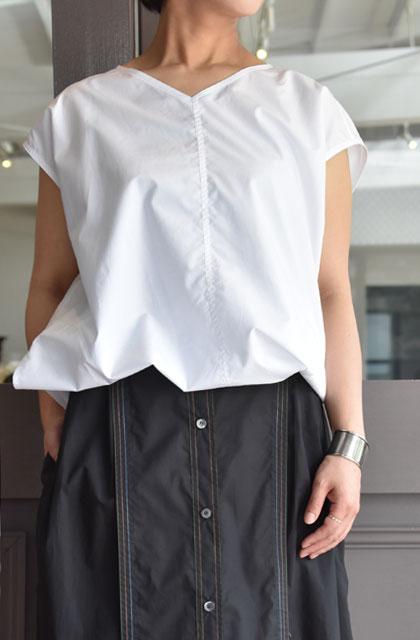 SOFIE D'HOORE(ソフィードール) / BONNY スリーブレスシャツ(3色展開)